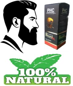 2pc. Beard Growth Oil  enriched with Sunflower Oil (60mL X 2) Bigger Pack