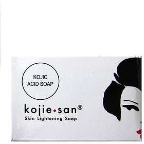 1 PC Best Kojic acid Kojie San Skin Lightening Soap genuine+Skin whitening.