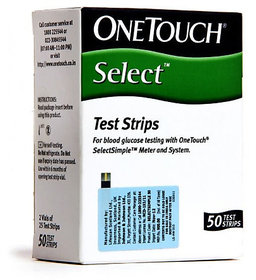 OneTouch Select Test Strips - 50 Strips