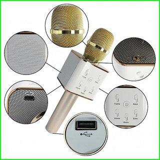 Q7 Karaoke Mic Bluetooth Speaker Microphone Sing Recording