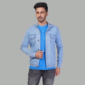 Xee Regular Fit Men's Light Blue Denim Jacket