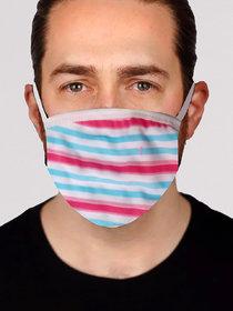 Stylish Printed Face Mask for Men - Design 2