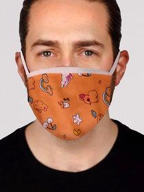 Stylish Printed Face Mask for Men - Design 7