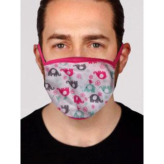 Stylish Printed Face Mask for Men - Design 9