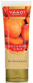 Vaadi Herbals Face And Body Scrub With Walnut And Apricot (110 Gms)