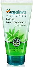 Himalaya Purifying Neem Face Wash Prevents Pimples 150ml