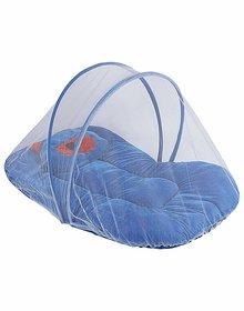 HomeStore-YEP Velvet Bedding Set with Foldable Mattress, Mosquito Net  Pillow Mosquito Net