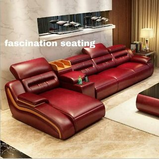 4 Seater L shape  Corner Sofas (MNS21634) by Fascinations