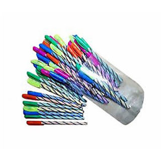Blue Ball Pen (Use Throw) Pack of 20
