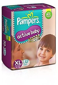 Pampers Active Baby XL 32