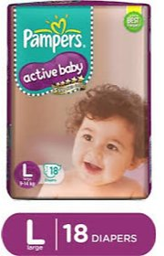 Pampers Active Baby L-18