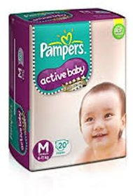 Pampers Active Baby M-20