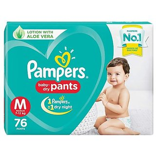 Pampers Pants M 76 Baby Diapers