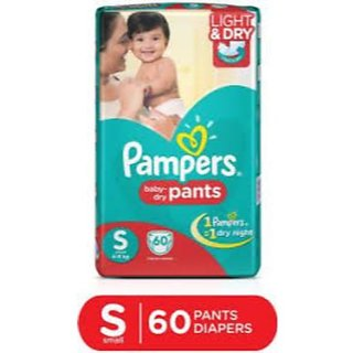 Pampers Pants S-60