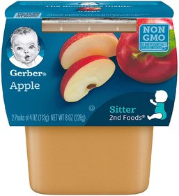 Gerber 2nd Foods 2pk 226g (8oz) - Apples