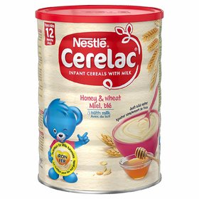 Nestle Cerelac Honey  Wheat With Milk - 400g (Imported)