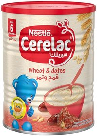Nestle Cerelac Wheat  Dates - 400g (Imported)