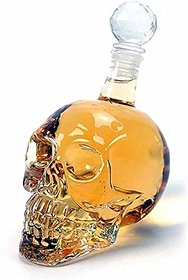 House of Quirk 550Ml Crystal Head Vodka Wine Bottle Decanter