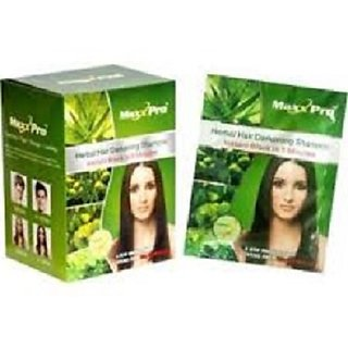 Max Pro Black Hair Shampoo Pack of 10