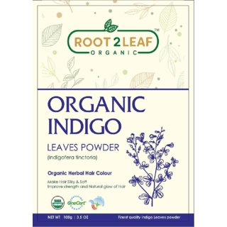 Root2leaf Organic Indigo Leaves Powder 100gm