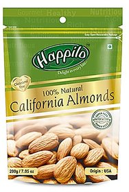 Happilo 100% Natural California Almonds 200gm