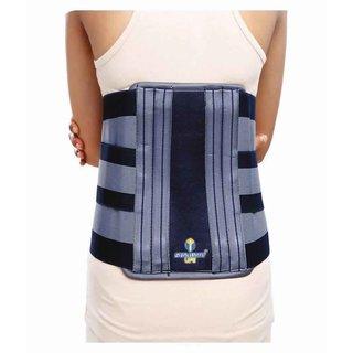 STALWART LIFE Lumbo support belt/belt for back pain -Blue (44-48 inch)
