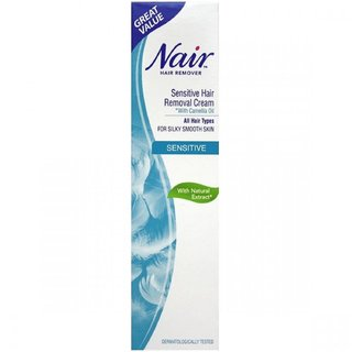 Buy Nair Hair Remover Sensitive Hair Removal Cream With Camelia Oil 80ml Online 695 From Shopclues