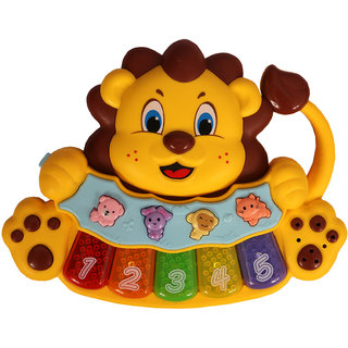 Chocozone Musical Piano with Animal Sounds  Lights Musical Toys for Kids  Toys for 2 Years Old