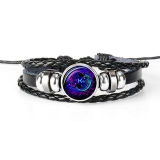 Chocozone Pisces Zodiac Mens Bracelets  Bracelet for Boys