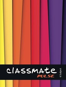 Classmate Pulse Regular Notebook 300 Pages (Multicolor)