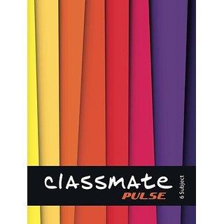Classmate Regular Notebook 300 Pages (Multicolor)