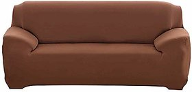 House of Quirk Universal Sofa Cover Flexible Stretch Slipcover (Triple Seater 185-230 cm)