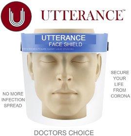 UTTERANCE Face Shield  Pack of 2