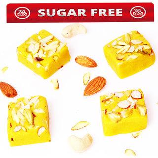 Sugarfree Kesar mawa barfi 800gms