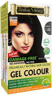 Indus Valley Hair Fibers Black 1.00 220 ml