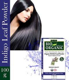 Indus Valley Bio Organic Indigo Leaf Powder 100 G