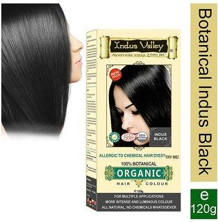 Indus Valley Hair Fibers Indus Black 120 g