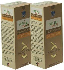 Nature Sure Rogan Jaitun Tel (Olive Oil) - 2 Packs (110ml Each) for Skin, Hair and Nails