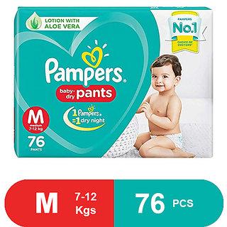 Pampers New Diaper Pants, Medium, 76 pcs