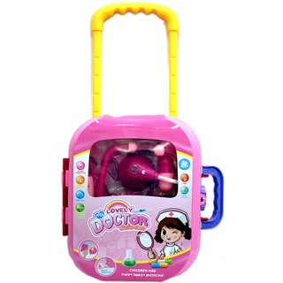 Chocozone Battery Opperated Doctor Set Accesorries Pretend play toys for Girls with Lights  Sound