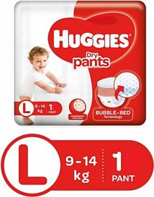 Huggies Dry Pants Large 1 pc