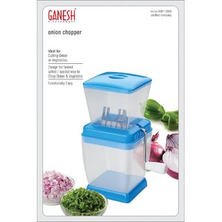Ganesh Onion Or Chilly Cutter - Assorted Colors