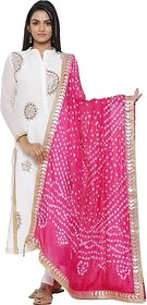 JABAMA Art Silk Printed Women Dupatta