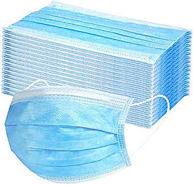 Disposable Earloop Medical And Surgical Face Masks 3 Layer Non-woven Elasti