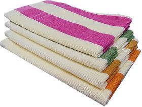 Akin MultiColor Cotton Hand Towels Set Of 4