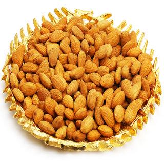 Ghasitaram Gifts   Dryfruits - Gold  Almonds Platter