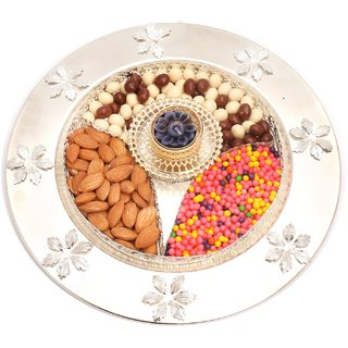 Ghasitaram Gifts  T-Lite almonds, nutties, crunchies