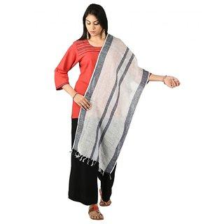 Womens Handwoven Cotton  Multicolor Freesize Stole