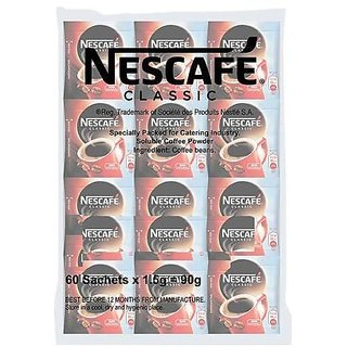Nescafe Classic Coffee Sachets (Pack of 64)