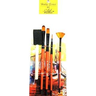 Art Pavilion Mix Brush Set For Artists